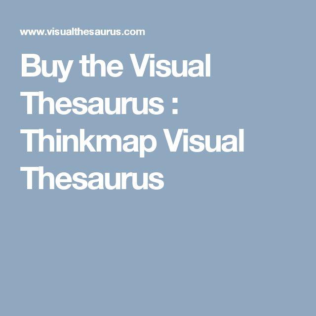 Buy the Visual Thesaurus : Thinkmap Visual Thesaurus