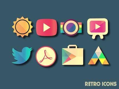 RETRO ICONS Pack- miniatura screenshot