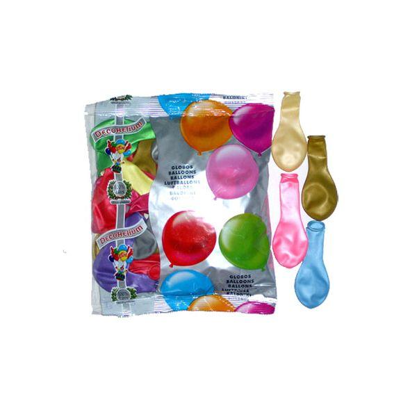 50 Ballons Métalliques - Multicolore #Ballonsfêtes #Sculpturesurballons