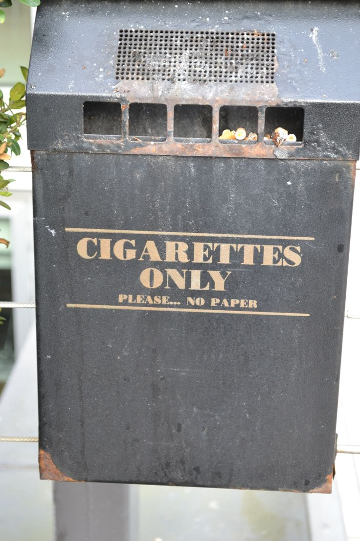 Cigarettes only