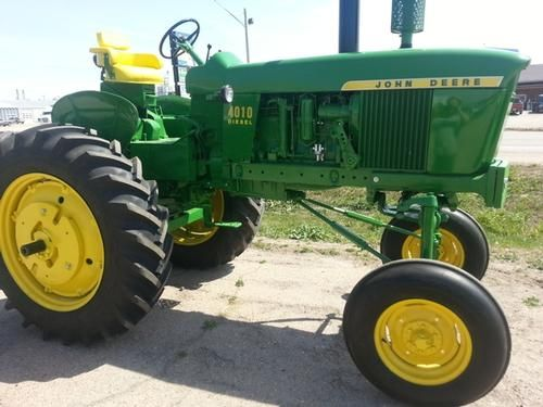 1962 John Derre 4010 Hi-Crop Tractor for sale by owner on Heavy Equipment Registry  http://www.heavyequipmentregistry.com/heavy-equipment/16620.htm
