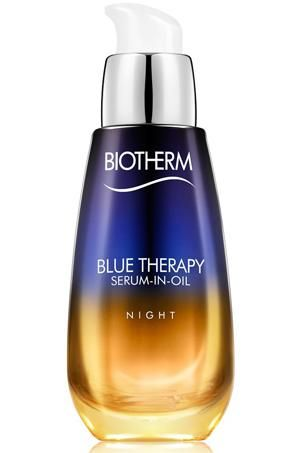 Biotherm Blue Therapy Serum in Oil. GREAT serum for night use. Leave to dry for 5 mins before applying your night creme