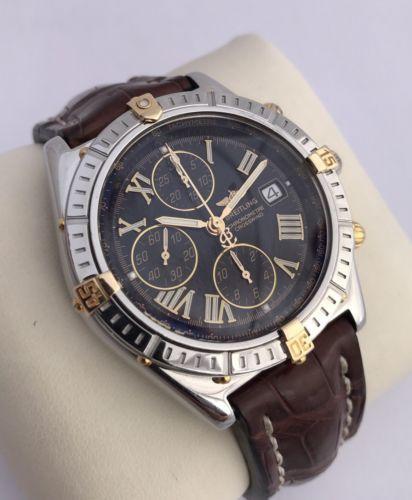 Breitling Crosswind 43MM B13355 Automatic Two Tone Wristwatch