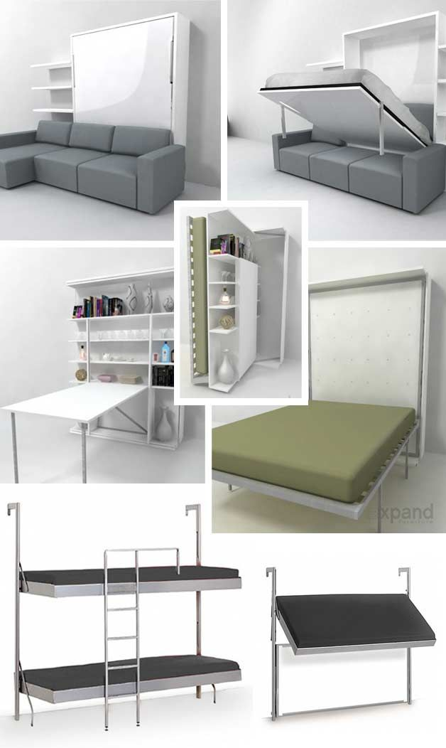 32 Really Clever Bed Solutions For Small Spaces Space