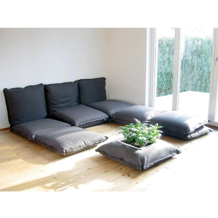 Zipzip modular cushions floor cushions home - Cushion flooring for living rooms ...