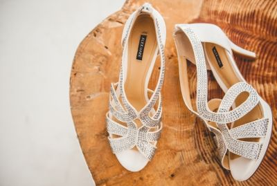 Bridal shoes from real weddings. Follow us for more wedding ideas