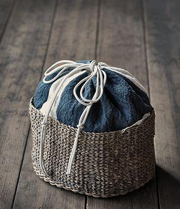 Kinchaku Kago ( Drawstring Bag)