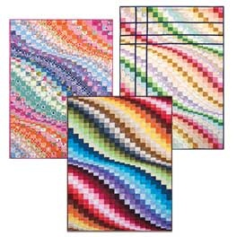 from Clotilde: Quilts Patterns, Layer Cake Quilts, Quilt Patterns, Layer Cakes, Wall Quilts, Layered Cakes Quilts, Bargello Quilts, Bargello Patterns, Black Cat