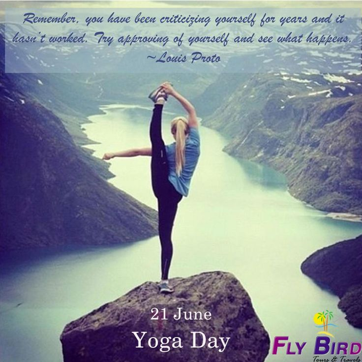 You can Do YOGA anywhere you are. Travel and YOGA are daily habits.