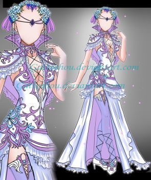 DeviantArt: More Like Adoptable Outfit Auction 59(closed) by LaminaNati