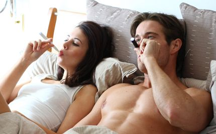 Sex with a vaporizer