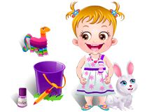 Help Baby Hazel host backyard party for her friends and enjoy different fun activities with them. Play Baby Hazel Backyard Party game on babyhazelgames.com at http://www.babyhazelgames.com/games/baby-hazel-backyard-party.html