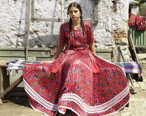 Tiganca, Gypsy woman. Romania