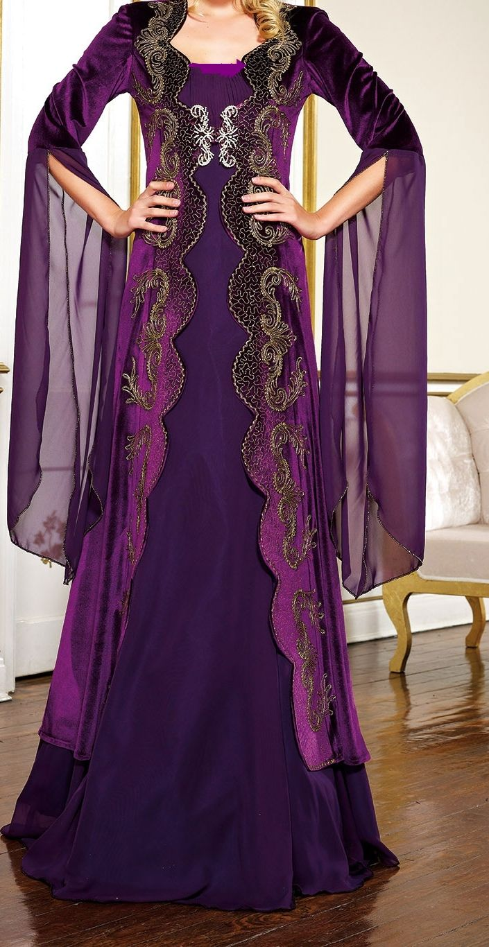 Pin by Ece Hira on dresses | Pinterest | Purple gowns ...