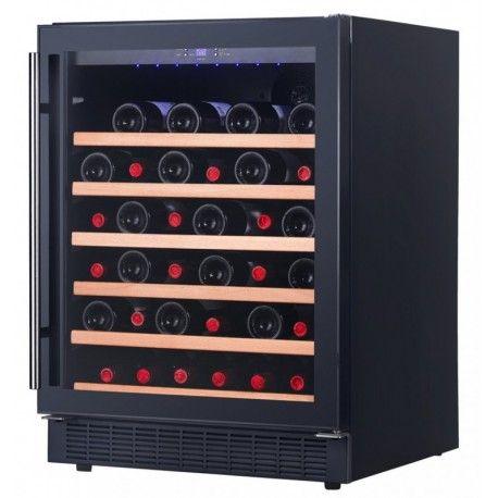 Racitor vinuri incorporabil sub blat DAU-52.146B Dunavox DAU-52.146B este un racitor de vin elegant, cu o zona de temperatura, din gama Exclusive a Dunavox.