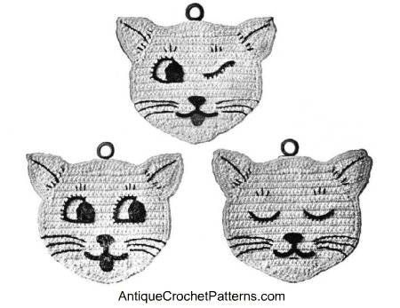 Cat Potholders