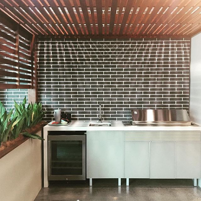 Who else is ready for an Australia Day BBQ tomorrow? We are...and we love designing outdoor kitchens too 😀😋🇦🇺  .  .  .  .  .  .  #kitchenculture #kitchendesign #kitchen #outdoors #outdoorkitchen #alfresco #design #interiordesign #joinery #glass #stone #plants #decor #styling  #renovation #building #pastel #bbq #australiaday #interiors #style #outdoorcooking #livingthedream