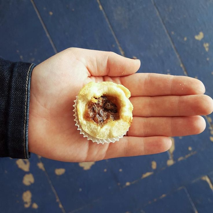 The cutest butter tarts in the world can be found at stop #10 on the Kawarthas Northumberland Butter Tart Tour - Sweet Bottoms Coffee.  With 3 flavours to choose from in bite sized form you can try them all! Which one will you like best - maple currant or honey?  #buttertarttour #buttertart #fenelonfalls #sweetbottoms #minitarts #mini #tart #dessert #food #foodpic #kawarthalakes