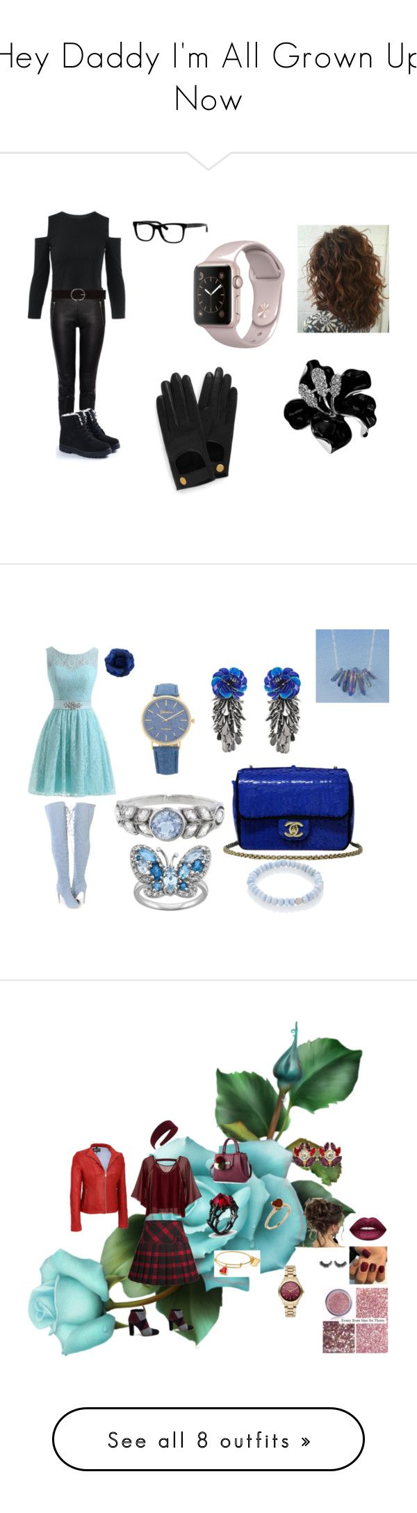 """""""Hey Daddy I'm All Grown Up Now"""" by janiesthoughtsrevive on Polyvore featuring Alexander McQueen, Mulberry, Vero Moda, Bobbi Brown Cosmetics, Forest of Chintz, Chanel, Cathy Waterman, Sydney Evan, Roberto Festa and Traffic People"""