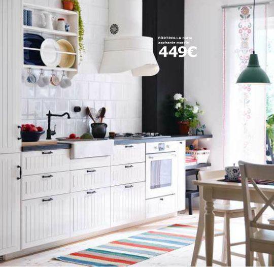 Un style classique pour cette cuisine qui n'a rien de désuète - Cuisine Ikea Metod : le meilleur du nouveau catalogue 2015 - CôtéMaison.fr