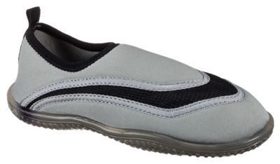 White River Fly Shop Aqua Sox Water Shoes for Kids - Grey/Black - 10 Toddler