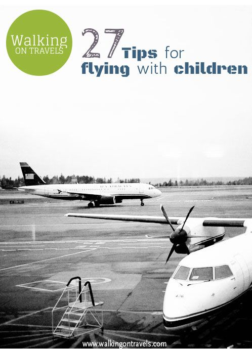 Tips to get you packed, booked and on the plane whether you are flying with children or not. Many address things you might have never thought about before you read them.