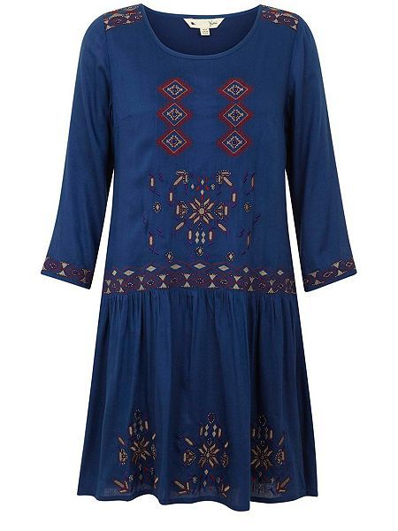Eclectic Embroidery Dress  Eclectic Embroidery Dress