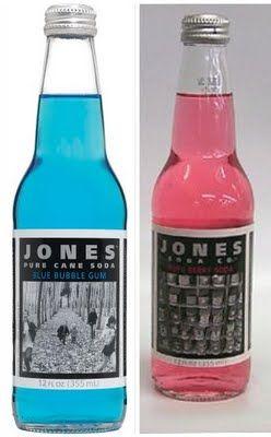 Love this idea of using the Jones Soda bottles to do for Gender Reveal LOL..