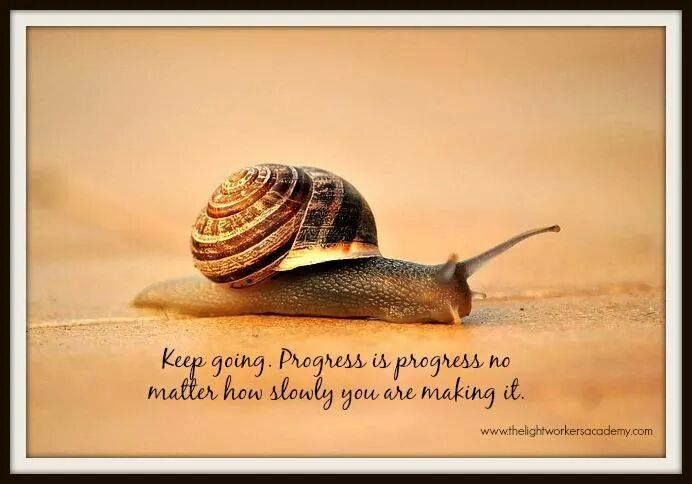 slow progress is still progress | time | Pinterest | Noah ark and ...