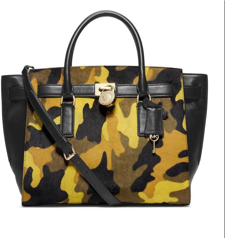 MICHAEL Michael Kors  Large Hamilton Camo Traveler #michael #kors #camo #camoflauge #bag #sale #fashion #trend #trendy