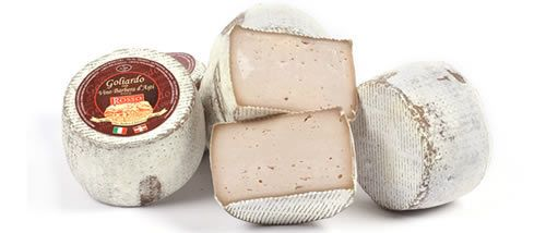 Goliardo 500g- cheese with Barbera d'Asti vine D.O.C.G