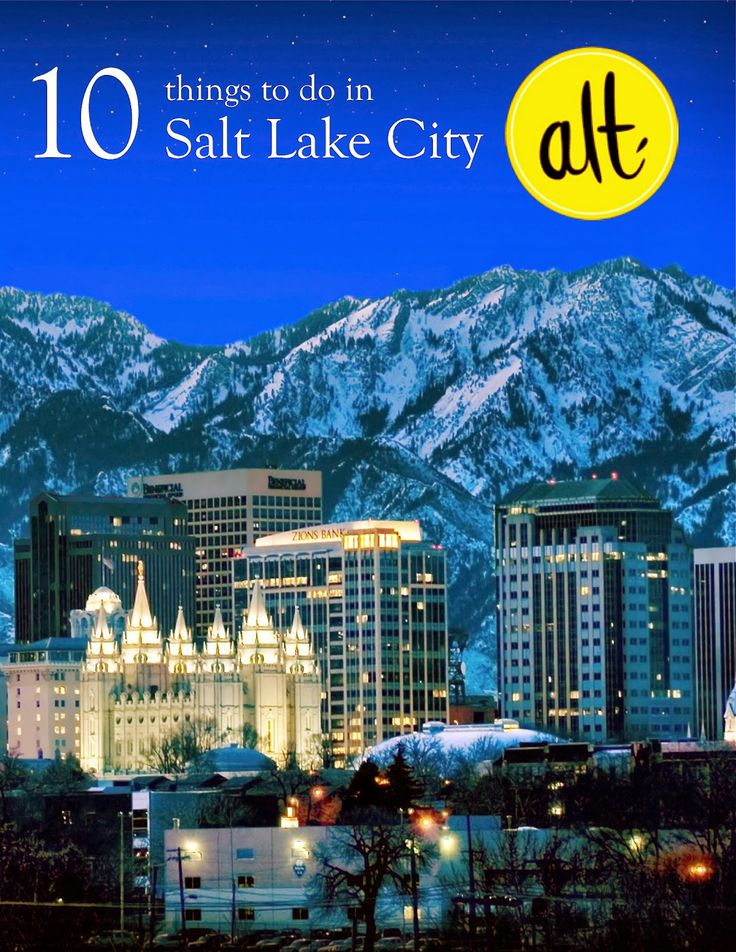 10 Things to do in Salt Lake City // Alt Summit #altsummit #slc #utah