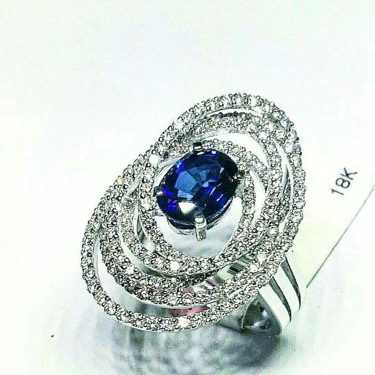 Diamond saphire