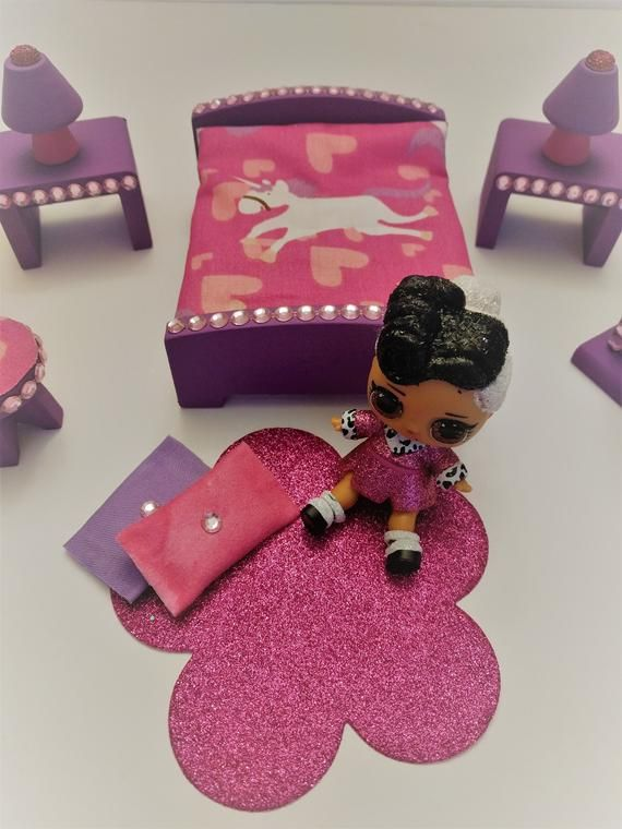 LOL Surprise Doll Custom Made Wood Furniture Dollhouse Set | Etsy – LOL