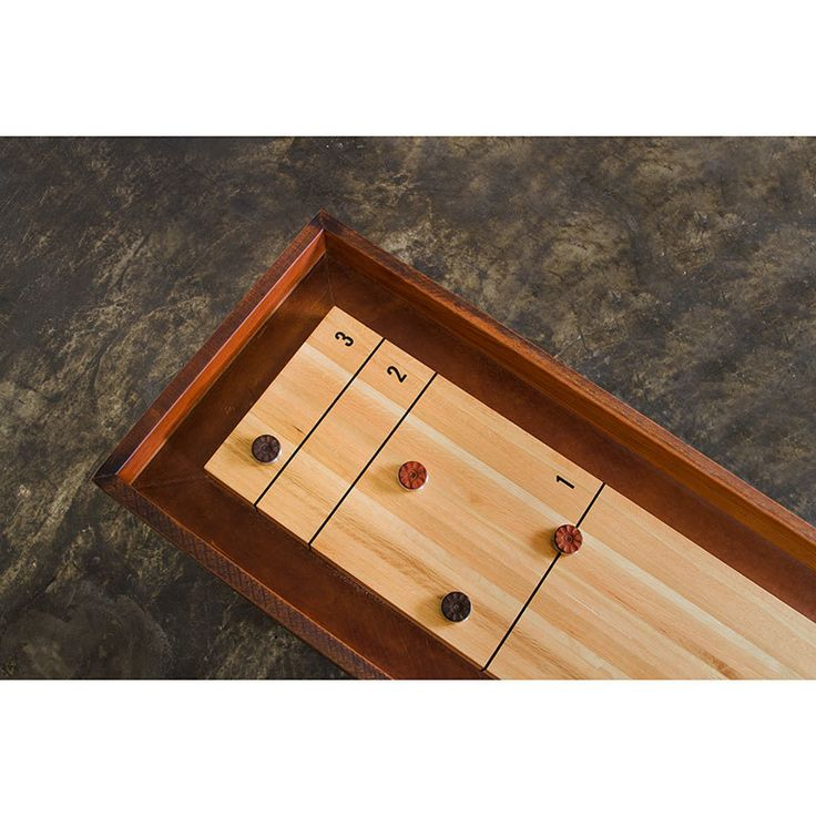 Nuevo Living Shuffleboard Game Table   Details