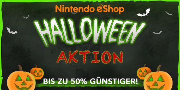 Nintendo eShop: Die Halloween-Aktion 2017 hat begonnen: Das Halloween-Fest hat sich über die letzten Jahre bei uns immer mehr etabliert.…