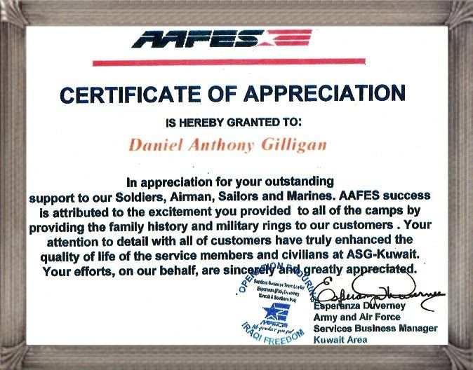 57 best Marine Corps  - military certificate of appreciation template