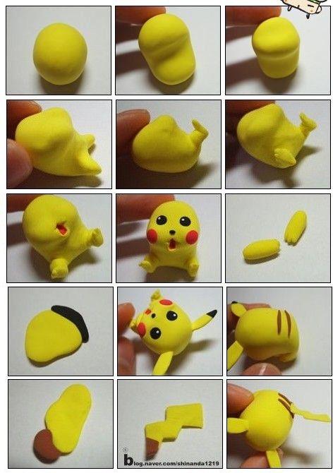 Pikachu de deco ración.