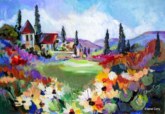 Sunflower Fields Elaine Cory