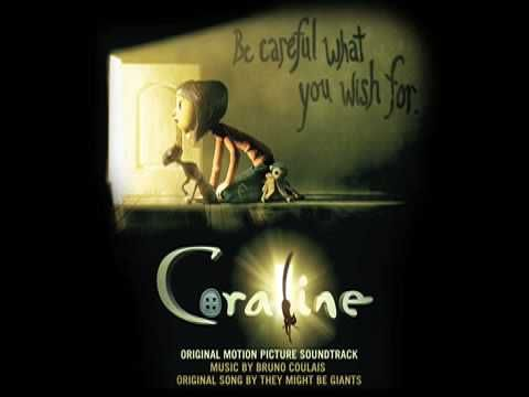 """Coraline Soundtrack """"End Credits""""  Nice choral piece  sheet music:  http://sebastianwolff.info/download/coraline/Coraline_End-Credits-(ensemble).pdf"""