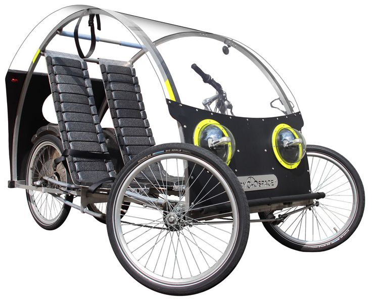 cyclospace by stilic force moyen de transport vehicule familial a propulsion musculaire