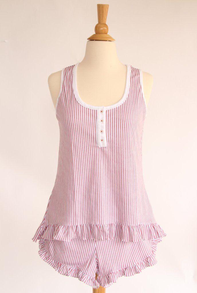 Mallory Pajama Short Set for Women