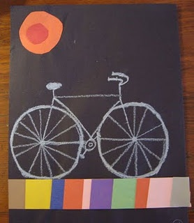 I love this ! Bicycle Art