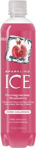 I rate this flavor 4 out of 5 Sparkling ICE Pomegranate BlueBerry