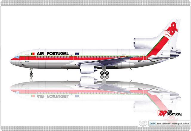 TAP Portugal / Lockheed L-1011 TriStar / Retro livery concept