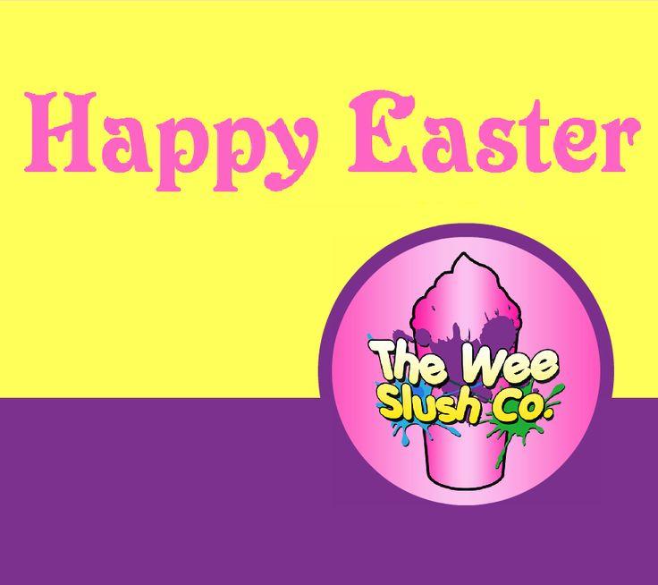 Happy Easter from The Wee Slush Company! We hope everyone's enjoying the weekend :) #TWSC #Slush #FrozenCocktails #CandyFloss