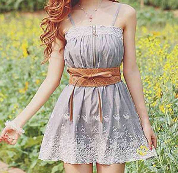 Cute Country Dress | Clothes | Pinterest | Belt, Country ...