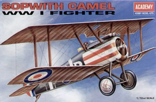Sopwith Camel. Academy, 1/72, injection, No.12447. Price: 2,78 GBP.
