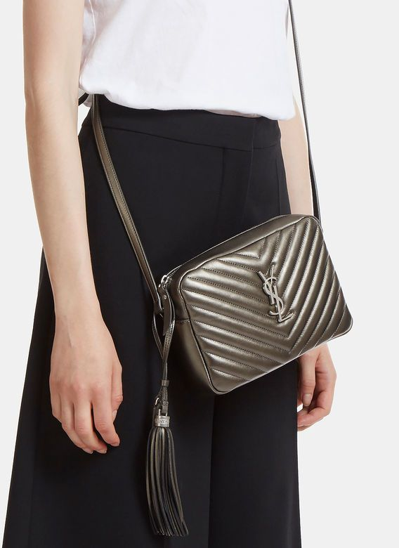 17f8ec82c2 YSL Lou Camera Bag in Matelassé Leather 🌺🍇🍇 #handbags ...