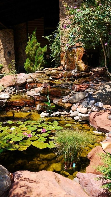 73 Pond Images Let You Dream Of A Beautiful Garden: 73 Best Koi Pond Images On Pinterest